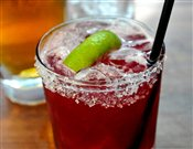 Blueberry Margarita (1 oz)   $7.00