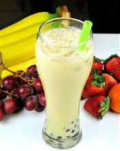 Banana Milk Green Tea