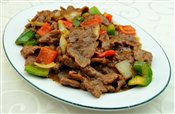 Fried Beef with Black Pepper