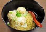 Wonton (Shrimp) Egg Noodle Soup