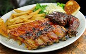 Chicken and BBQ Ribs
