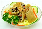Vegetable Thai Spring Roll
