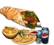 Falafel Sandwich Combo
