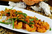 Shrimp in Coconut & Curry