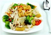 Stir Fried Chicken with Veggies & Cashew Nuts   $8.00