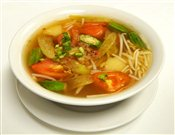 Vietnamese Sweet And Sour Shrimp Soup   $4.95
