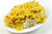 Chicken with Curry Sauce on Rice - Lunch & Late Night Menu