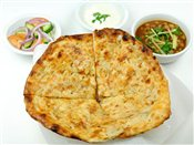 Amritsarikulcha (Stuffed Nan) Meal
