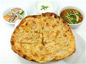 Amritsarikulcha (Stuffed Nan) Meal