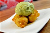 Banana Fritter & Ice Cream