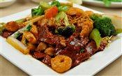 Cantonese Chow Mein (Chicken, Shrimp, Beef)