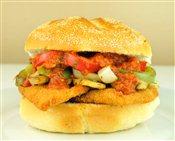 Chicken Cacciatore Sandwich