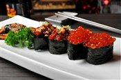 Spicy Tuna Sushi, Unagi Sushi, Salmon Roll Sushi