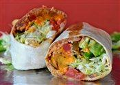 Yam Burrito