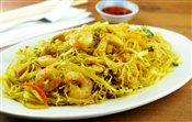 Singapore Rice Noodles   $8.50