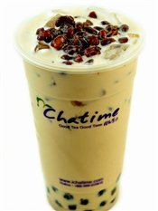 Chatime Red Bean Milk Tea   $4.50