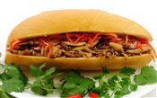 Shredded Chicken Baguette   $3.00