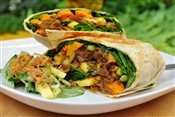 Curry Beef Wrap