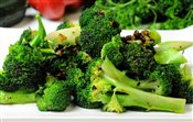 Roasted Garlic Broccoli