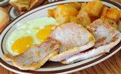 2 Eggs & Pork Chops