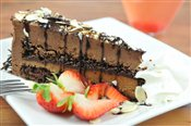 Gluten Free Flourless Chocolate Almond Torte