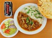 Lamb, Rice & Naan Combo