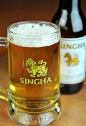 Singha Thai Beer