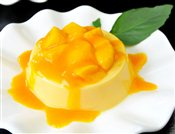 Golden Mango Pudding