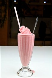Strawberry Milkshake   $3.00