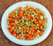Large Chickpeas Salad