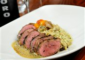 HERB-CRUSTED ONTARIO LAMB LOIN
