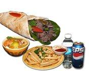Beef Shawarma Sandwich Combo