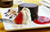 Individual Chocolate Truffle Cake
