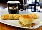 Coffee and Bakhlava