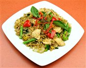 Basil Fried Rice Chicken