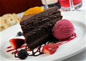 Bellini's Chocolate Cake