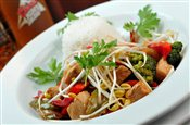 Thai Chicken Stirfry on Rice