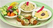 Vegetarian Sampler Plate