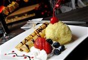 Chocolate Springrolls Dessert