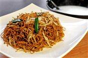 Plain Congee & Bean Sprout Fried Noodles