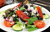 Tandoori Wild Salmon Greek Salad