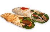 1 Falafel and Shawarma Sandwich