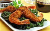 Coconut Beer Battered Shrimps