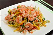 Green Mango Salad with Shrimp