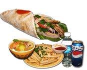 Chicken Shawarma Sandwich Combo