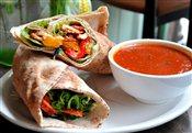 Tomato Soup & Wrap
