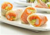 Arctic Roll (4pcs)   $6.95