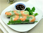 Rice Paper Roll with Shrimp
