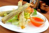Crispy Basil Shrimp