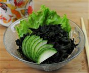 Black Seaweed Salad